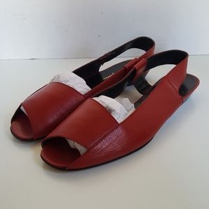 Galligano Made in Italy Leather Sandals